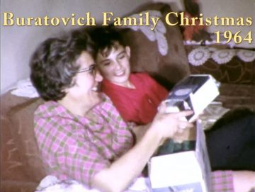Buratovich Family Christmas – 1964