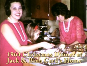 Christmas Dinner at the Card's – 1964