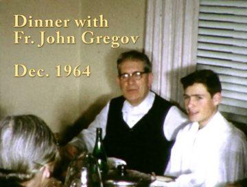 Father John Gregov dinner – 1964