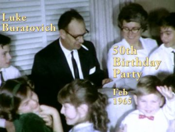 Luke Buratovich's 50th Birthday – 1965