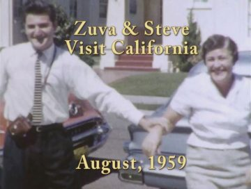Zuva and Steve Nobilo visit California – 1959