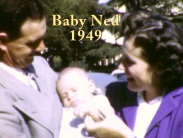Baby Ned a Month Old – 1949