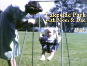 Baby Ned at Lakeside Park – 1949