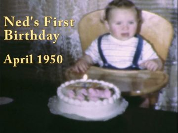 Ned's 1st Birthday – 1950