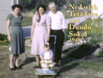 Ned with Teta Jaka & Dundo Sokol – 1949