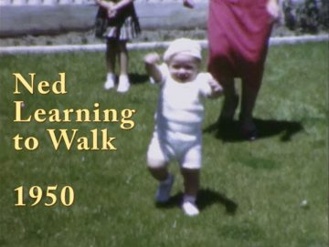 Ned Learning to Walk – 1950