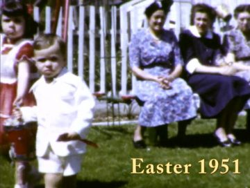 Easter with Baba Mary and Baba Tereza – 1951