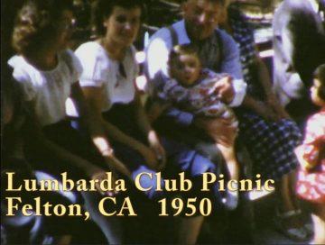 Lumbarda Club Picnic, Felton, CA – 1950