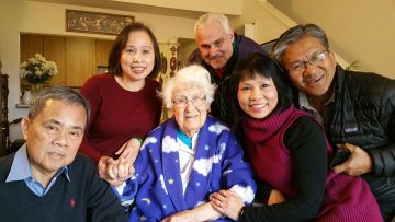 Vietnamese family visit